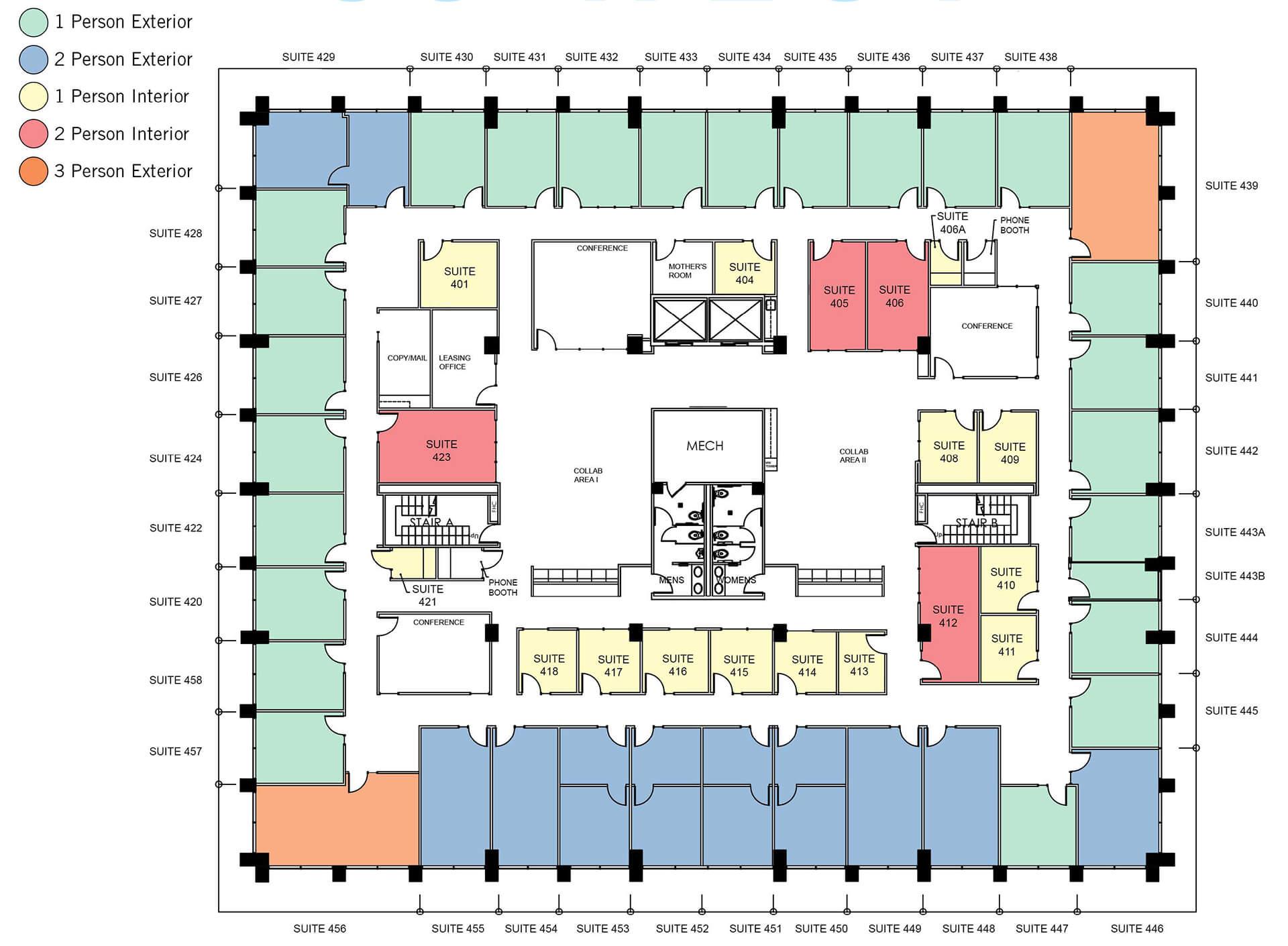 Floor Plan 53 West